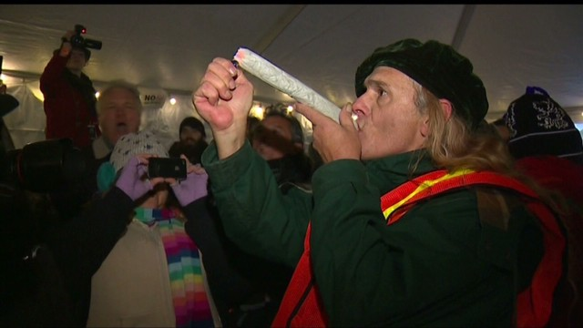 Seattle celebrates pot legalization