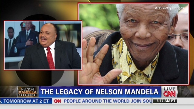 MLK III discusses dad, Mandela's legacy