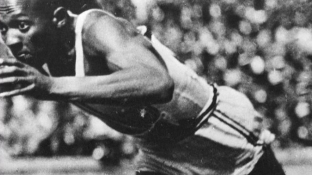 Jesse Owens' medal of auction block
