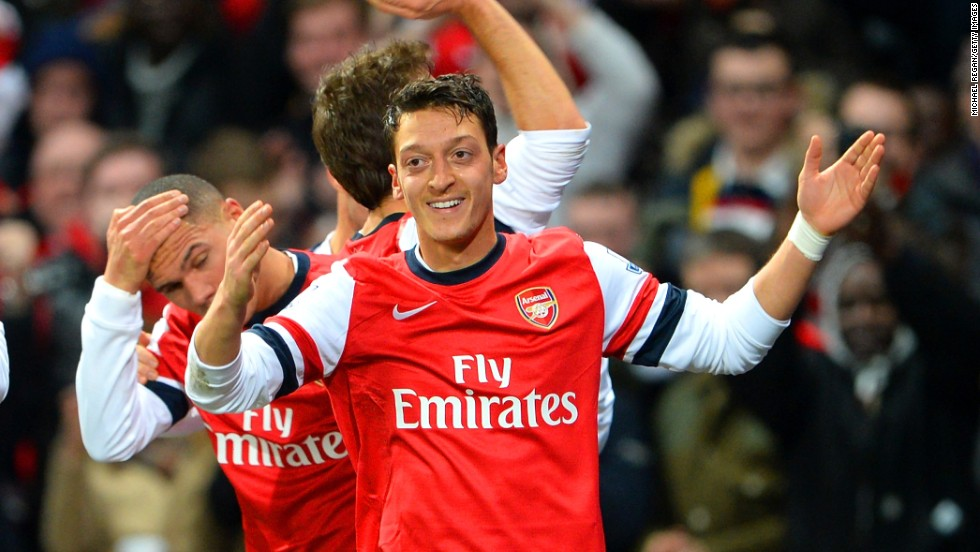Mesut Ozil will be leading the charge for Arsenal when it faces Bayern Munich. The Gunners were beaten by the German side on away goals at the same stage last season.