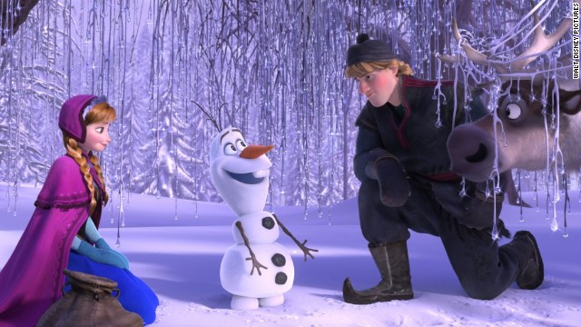 "Disney's ""Frozen"" topped the box office on the weekend of December 7."