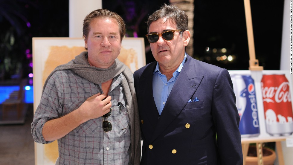 Every year charity art auctions take place around the main art fair. Collector Peter Brant and actor Val Kilmer attended an auction for Best Buddies, an organization that creates opportunites for people with intellectual and developmental disabilities. In recent years Kilmer, an avid collector, has purchased large sculptures while in Miami.