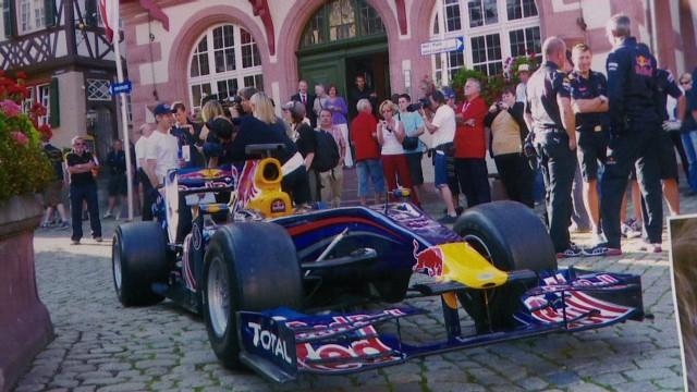 Sebastian Vettel's hometown pride