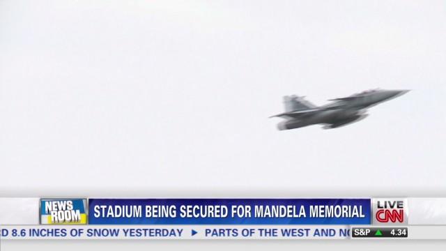Mandela memorial security preps