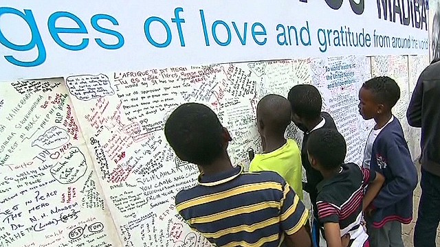 South Africa: Mourning and celebrating