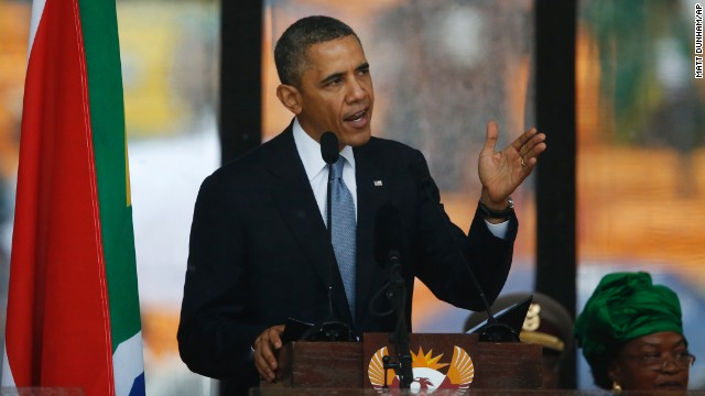 Obama: We can still learn from Mandela