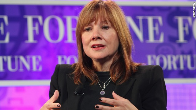 GM appoints first female CEO