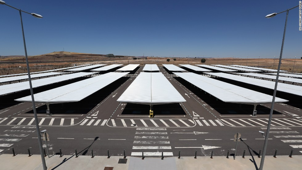 "Ciudad Real International, Spain's so-called ""ghost airport,"" has been put up for auction starting at $150 million. Flights dwindled to an end a year ago."