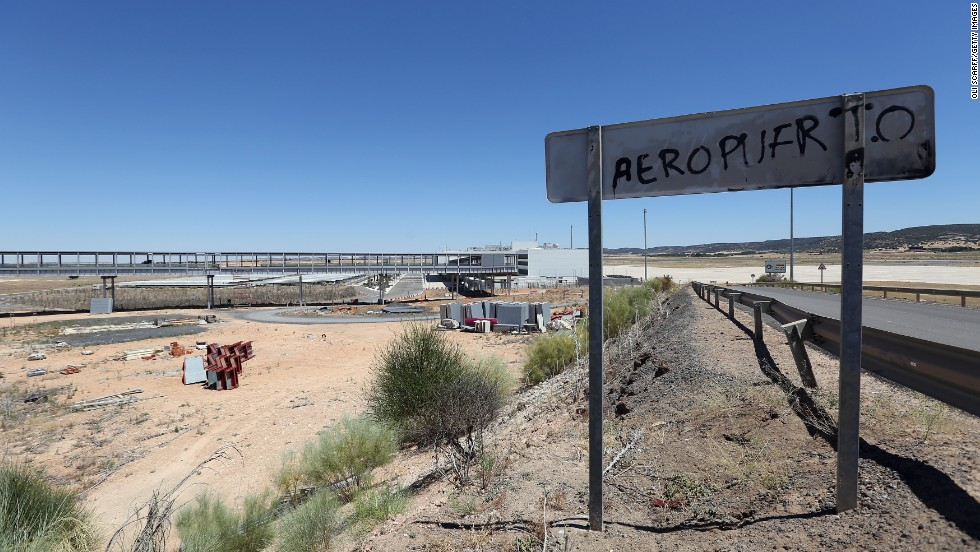 """The airport is located in one of Spain's least populated regions, next to what Lonely Planet calls """"an unspectacular Spanish working town"""" -- Ciudad Real."""