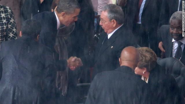Was Obama-Castro handshake significant?