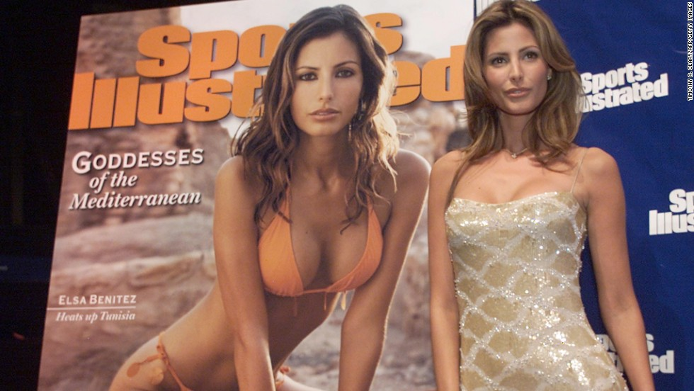 The identity of the cover star is a closely-guarded secret and the magazine does the utmost to keep it secret until publication, as in the case of 2001's Mexican model Elsa Benitez.