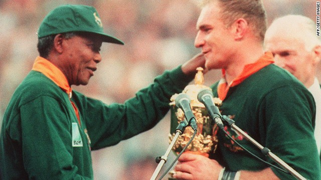 Rugby captain reflects on Mandela