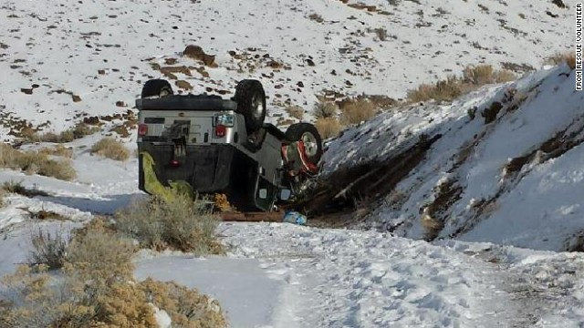 Winter driving safety played a role in saving the lives of this Nevada family.