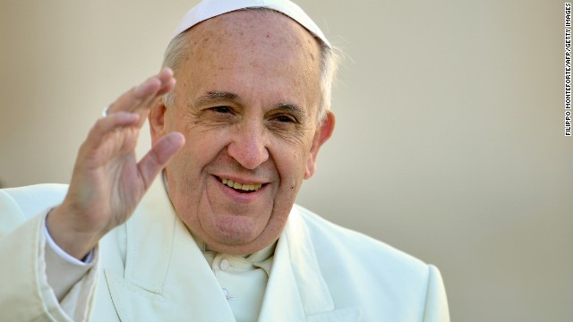 Time has named Pope Francis its Person of the Year.