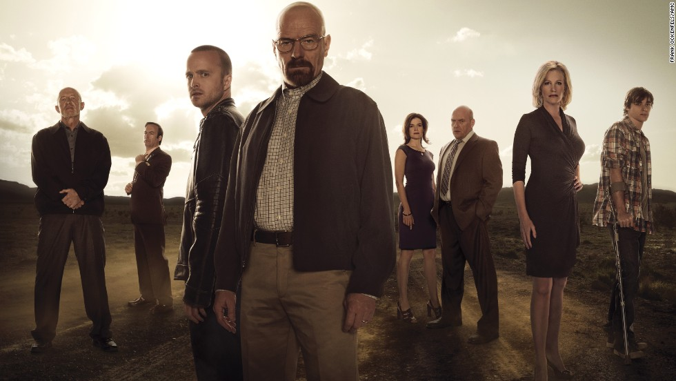 "<strong>Outstanding ensemble in a drama series: ""Breaking Bad"" </strong>(pictured); <strong>""Boardwalk Empire,"" ""Downton Abbey,"" ""Game of Thrones,"" ""Homeland.""</strong>"