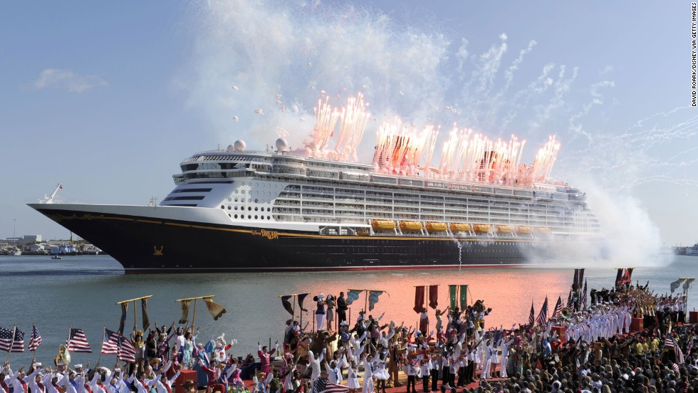 Character meet and greets, diverse kids' programs and kid-free zones for parents are reasons this Disney ship is named the best for family cruises.