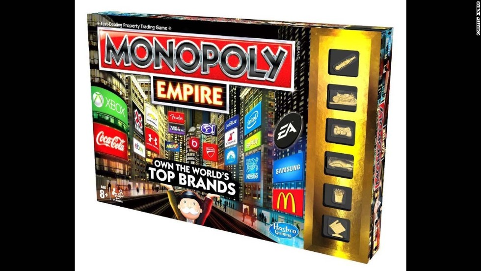 Monopoly Empire by Parker Brothers in 2013. More than 275 million games have been sold worldwide and it's available in 111 countries, in 43 languages.