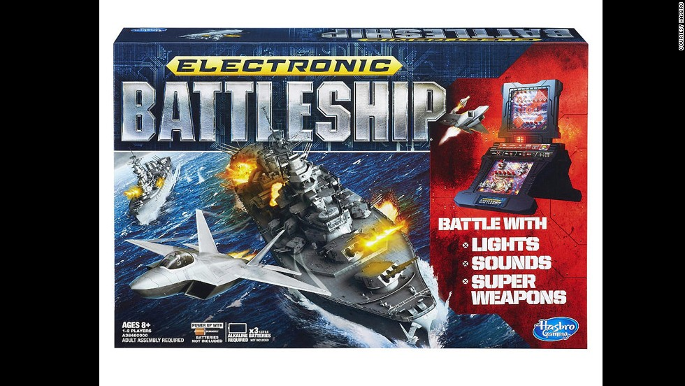 "Electronic Battleship by Milton Bradley in 2013. ""You sunk my battleship!"" While the electronic battleship game is not new to the market, introduced in 1977, it was one of the first board games to integrate electronics."