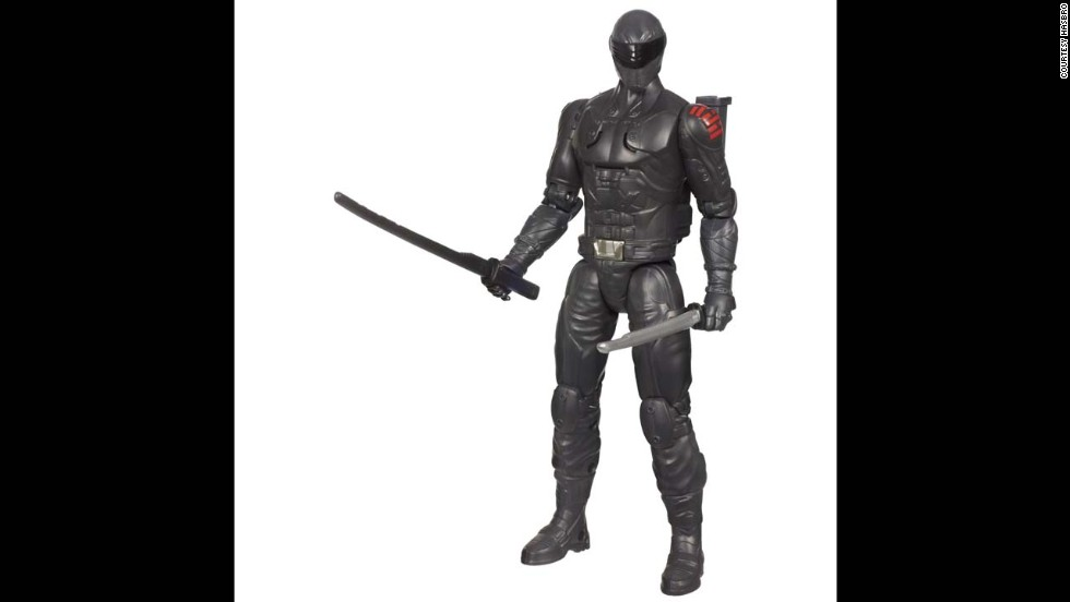 "G.I. Joe Retaliation Ninja Commando Snake Eyes Figure by Hasbro in 2013. G.I. Joe has changed a lot through the years. He has been scaled-down, given more soldiers and weapons, back stories, a cartoon show, movies and even a new enemy: Cobra, ""a ruthless terrorist organization determined to rule the world."""