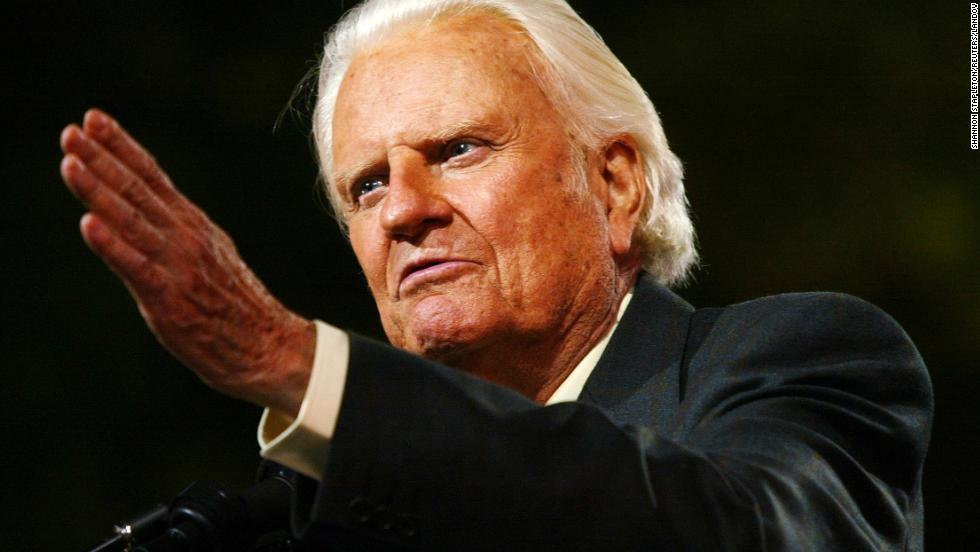 Billy Graham has reached tens of millions of people through his Christian rallies and developed a relationship with every U.S. president since Harry Truman. He celebrates his 96th birthday on Friday, November 7.