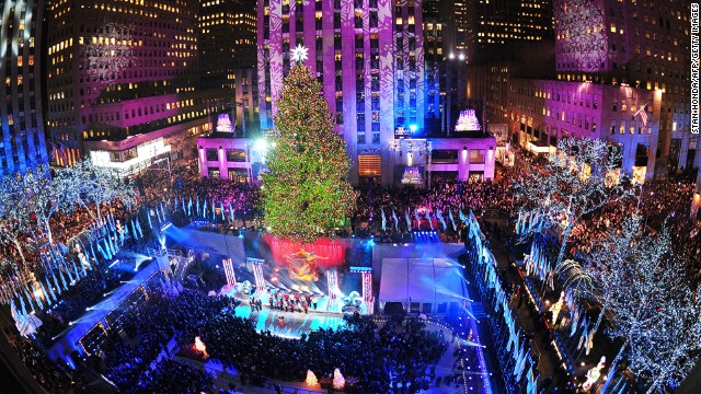 When there's snow on the ground, New York can feel like the capital of Christmas.