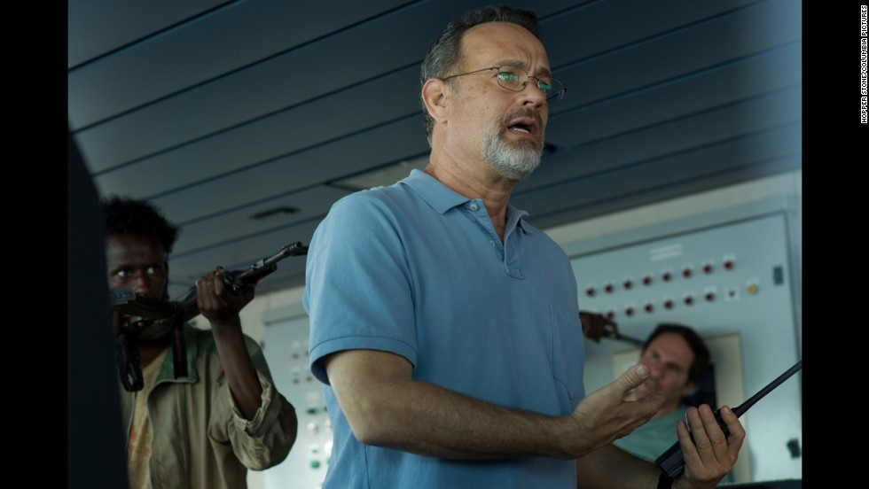 "<strong>Best adapted screenplay nominees: </strong>Billy Ray for ""Captain Phillips"" (actor Tom Hanks pictured); Richard Linklater, Julie Delpy and Ethan Hawke for ""Before Midnight""; Steve Coogan and Jeff Pope for ""Philomena""; John Ridley for ""12 Years a Slave""; and Terence Winter for ""The Wolf of Wall Street"""
