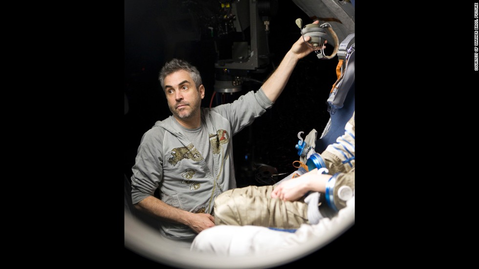 "Nominated for best director were Alfonso Cuaron, ""Gravity"" (pictured); Paul Greengrass, ""Captain Phillips"", Steve McQueen, ""12 Years a Slave""; Alexander Payne, ""Nebraska""; and David O. Russell, ""American Hustle."""