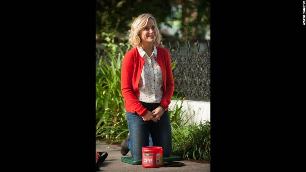 "<strong>Best actress in a TV series, musical or comedy:</strong> Amy Poehler, ""Parks and Recreation"""