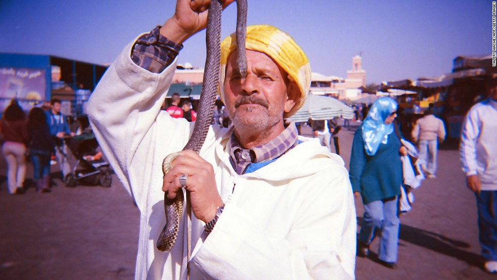 Assuming you're in a mainly Christian country in the first place, Morocco's a good escape for snake charming, etc., in the souk.