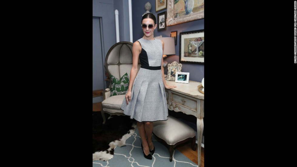 """Party dresses are perfectly acceptable as """"festive"""" dress, said Courtney Weinblatt, market editor for Marie Claire."""