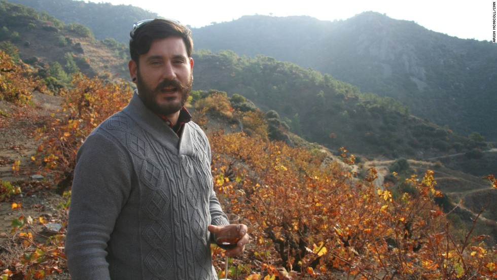 Winemaker Lefteris Mohianakis is attempting to bring new life to Cyprus's wine culture. His award-winning Anama Concept wine, looks to the prehistory of Cypriot viniculture, to create a new wine inspired by 'nama', the 5,000-year-old predecessor of commandaria.