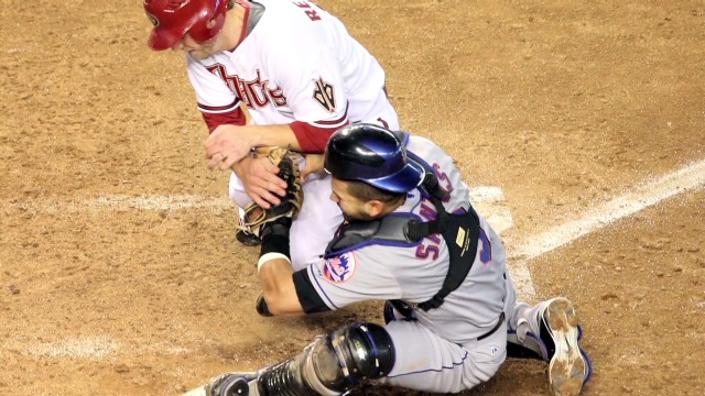 MLB throws out collisions