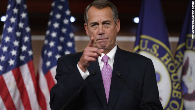 Boehner's suit a tight fit