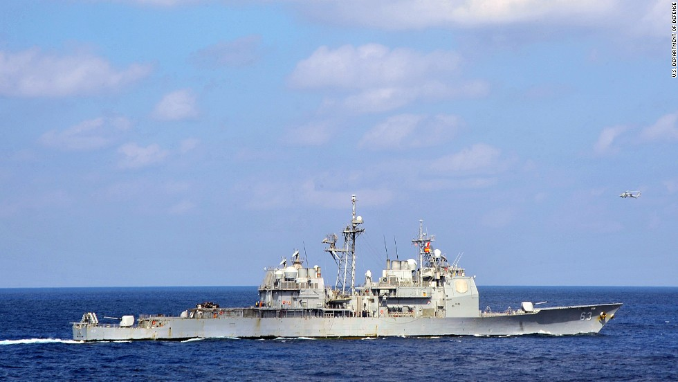 Uss Cowpens Collision USS Cowpens on December 6