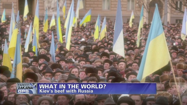 What in the World? Ukraine protests