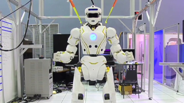 Meet Valkyrie, NASA's new super robot