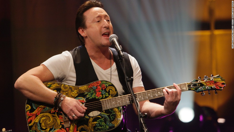 Musician Julian Lennon, son of the late Beatle John Lennon, turned 50 on April 8.