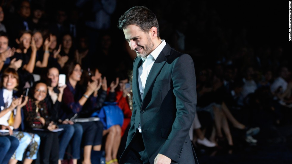 American fashion designer Marc Jacobs turned 50 on April 9.