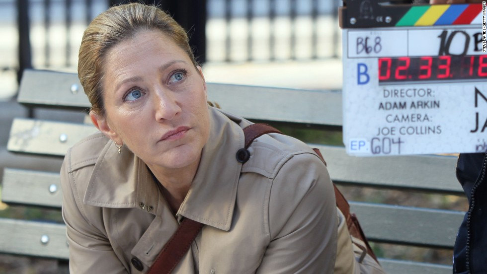 "Actress Edie Falco, who played Carmela Soprano in the HBO series ""The Sopranos,"" turned 50 on July 5."