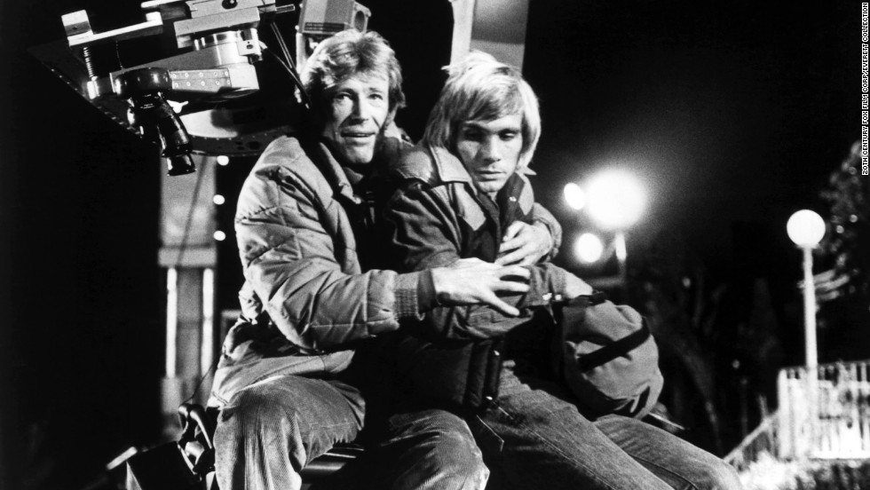 "O'Toole's leading role in the 1980 film ""The Stunt Man"" brought him a sixth best actor nomination from the Academy. Steve Railsback, right, also starred in the film. It was seen as a comeback for O'Toole, whose battle with alcohol addiction hampered his career in the 1970s."