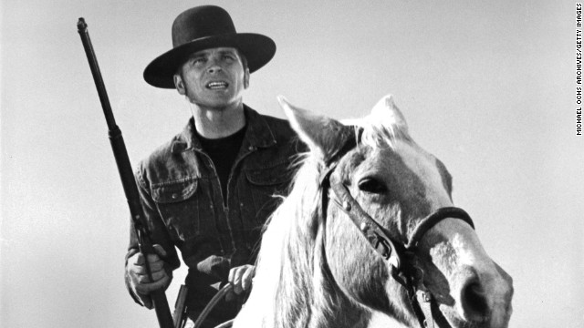 """Tom Laughlin, the actor who wrote and starred in the """"Billy Jack"""" films of the 1970s, poses for a portrait circa 1971."""