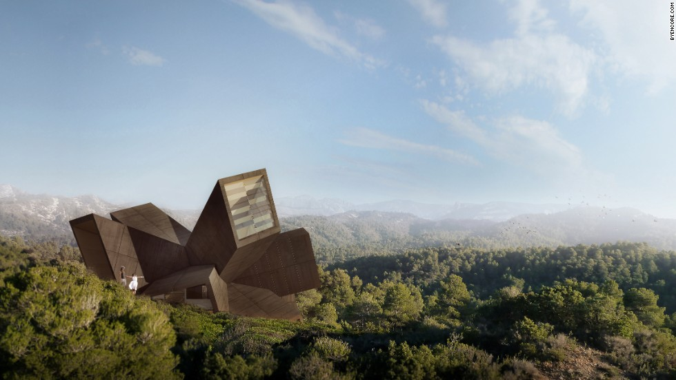 "French-Portuguese architect <a href=""http://didierfaustino.com/"" target=""_blank"">Didier Faustino</a> is known for subversive works and experimental installations. That is evident in Casa Faustino. In the CGI rendering it looks like an Art Deco space ship that has crashed in the forest."