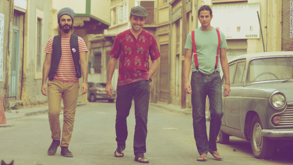 """Monsieur Doumani -- a band that update traditional Cypriot music with modern, political lyrics -- perform in venues along the Green Line. """"Whether you like it or not, you are somehow involved in all this, so if you are an artist based in Nicosia, it is almost impossible to close your eyes and not be influenced or inspired by the political issues,"""" says singer Antonis Antoniou."""