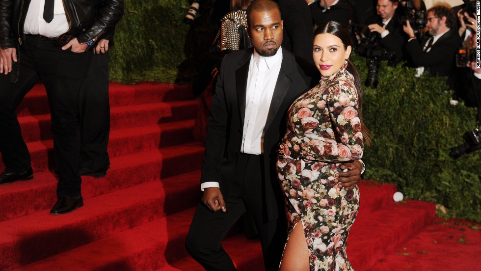 Kanye West and a very pregnant Kim Kardashian made quite the statement at the Costume Institute Gala in New York in May. But the birth of their daughter North and their subsequent engagement kept folks talking.