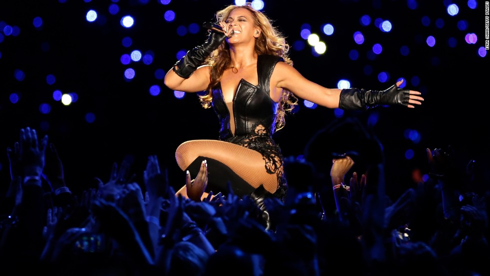 "After <a href=""http://www.cnn.com/2013/01/31/showbiz/beyonce-super-bowl"">Star Spangled Banner-gate</a>, Beyonce made them <a href=""http://www.cnn.com/2013/02/03/showbiz/tv/beyonce-super-bowl-halftime-show/"">bow down</a> during the Pepsi Super Bowl XLVII Halftime Show in New Orleans in February."