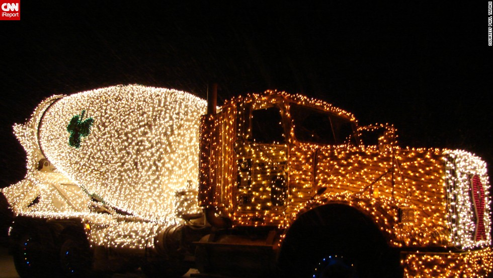 """More Christmas trucks! """"I've seen [the trucks] come by before, but I've never been able to catch them,"""" said <a href=""""http://ireport.cnn.com/docs/DOC-1067908"""" target=""""_blank"""">Paul Tamasi</a>, who shot this photo on December 11."""