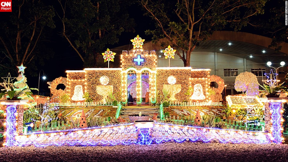 """<a href=""""http://ireport.cnn.com/docs/DOC-1066728"""" target=""""_blank"""">Richelle82</a> says Christmas is a big holiday in the Philippines. """"Just like the rest of the world, the Philippines celebrates Christmas in a joyful way,"""" she said. """"There will always be Christmas spirit in the Philippines no matter how many calamities have hit the country."""""""