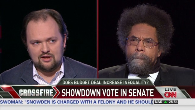 Cornel West: I would vote for budget deal
