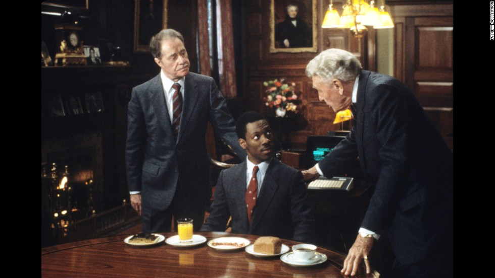 "With 1983's ""Trading Places,"" financial industry corruption is played for laughs. Eddie Murphy stars as a street hustler who's roped into an experiment by the loaded Duke brothers. To pull it off, the brothers install Murphy's character as a high-earning broker and leave Dan Aykroyd's aristocratic Louis Winthorpe III in ruins. In the Wall Street finale, the Dukes learn they're terrible at placing bets."