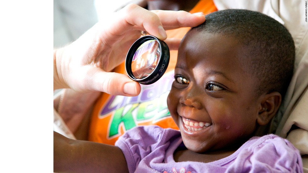 The flying eye hospital is run by ORBIS, a U.S.-based non-profit organization.<br />Selected patients are screened by ORBIS medical volunteers. Priority is given to children, people who are bilaterally blind, those who can't afford to have the surgery otherwise, and are good teaching cases.